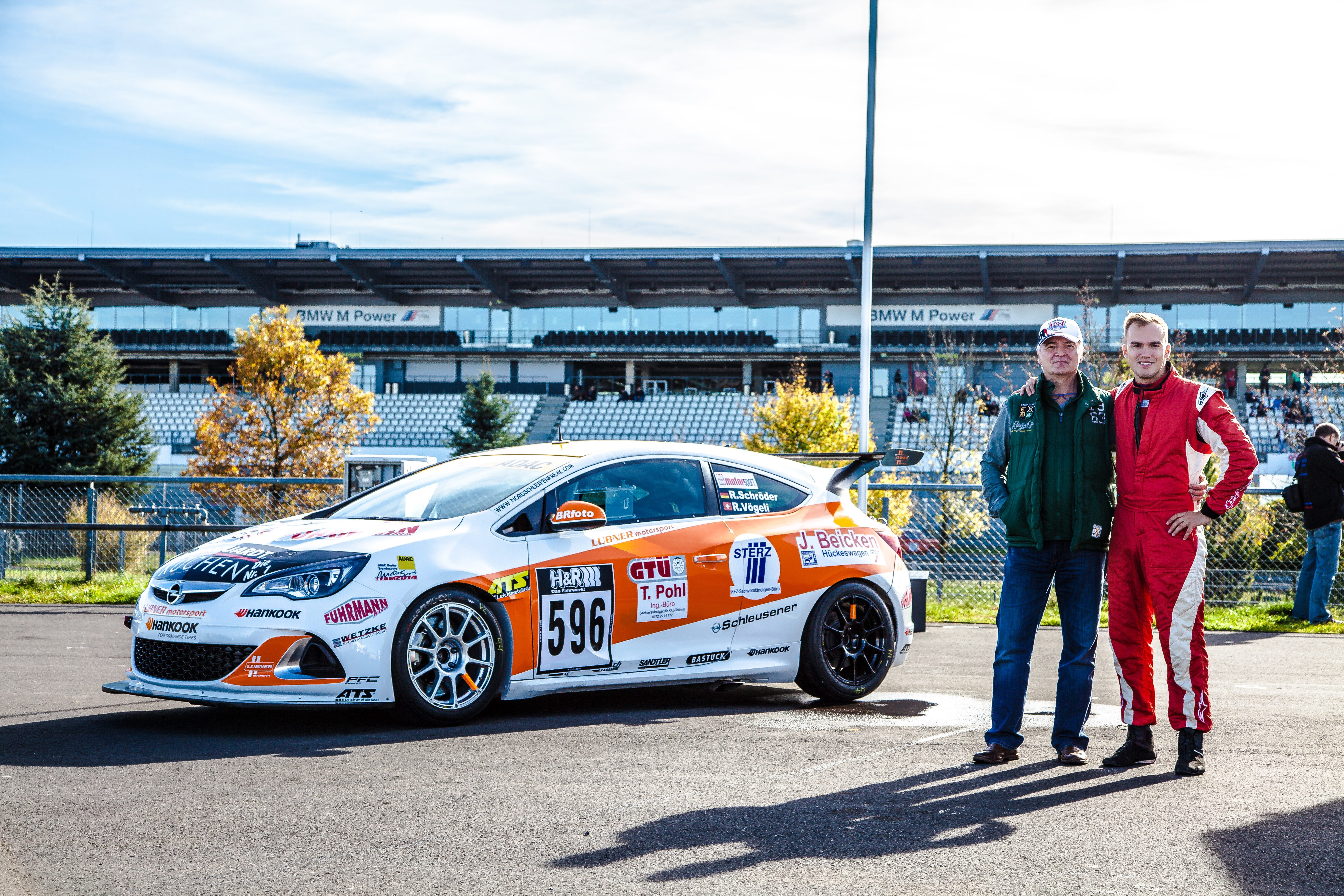 Papa Opel und Robert